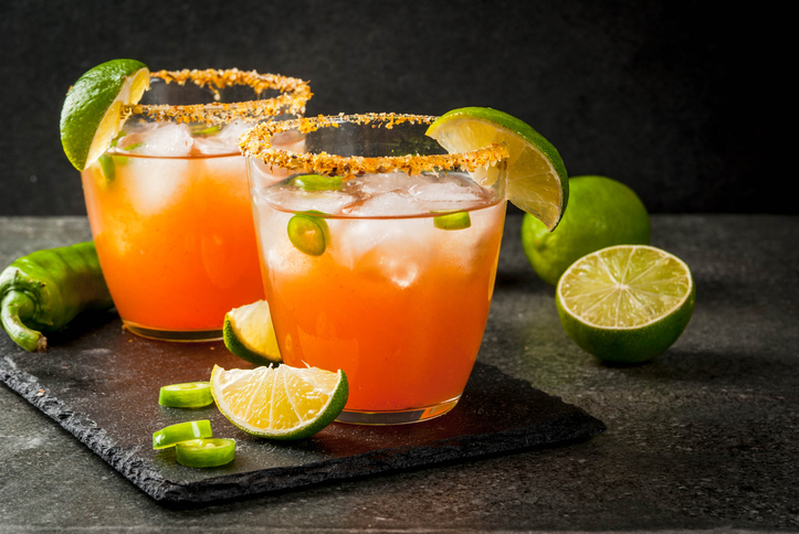 The savory Micheladas served in several of San Antonio's bars